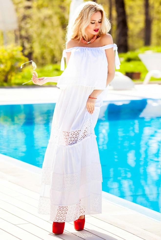 Платье Шарлин белый