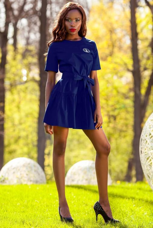 Платье-туника Латино тёмно-синий