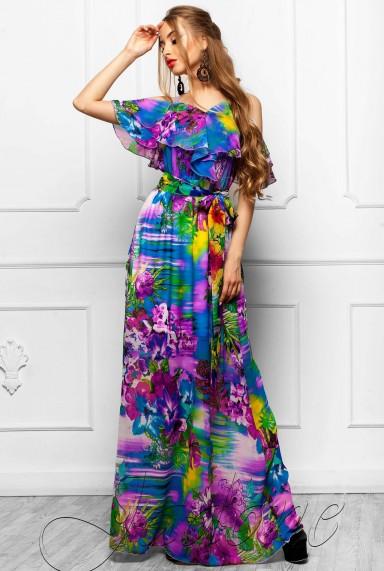 Платье Отим комбинированный_3