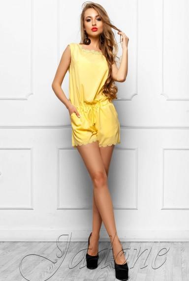 Комбинезон Амалия жёлтый