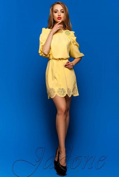 Туника-платье Шатти жёлтый