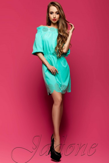 Туника-платье Шатти бирюзовый