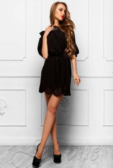 Туника-платье Шатти черный