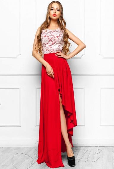 Платье Арни красный