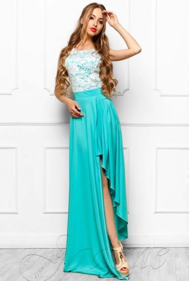 Платье Арни бирюзовый