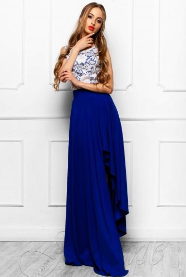 Платье Арни электрик