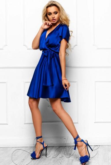Платье Синди  электрик