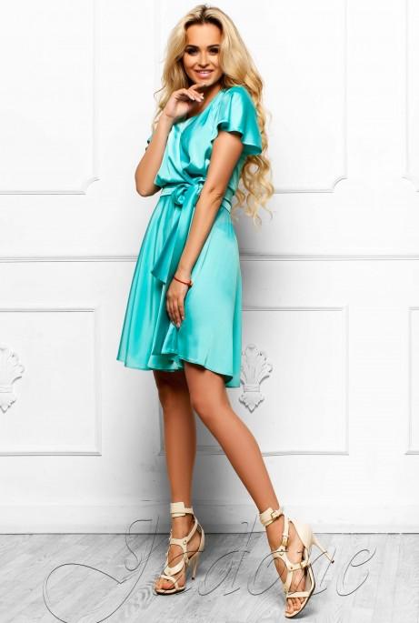 Платье Синди  бирюзовый