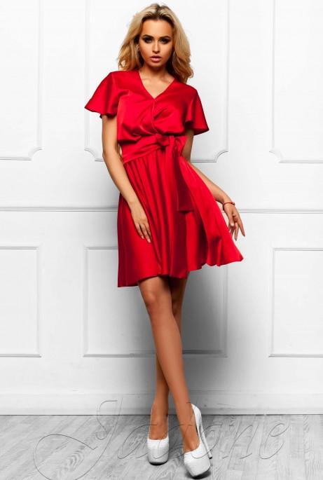 Платье Синди  малиновый