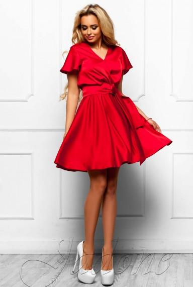 Платье Синди  красный
