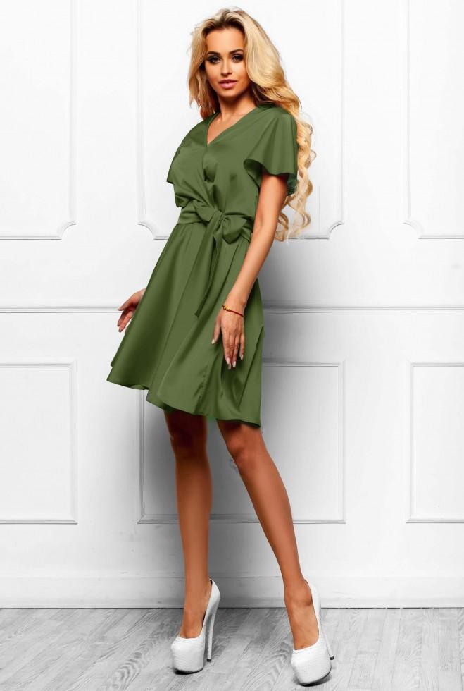 Платье Синди  хаки Жадон