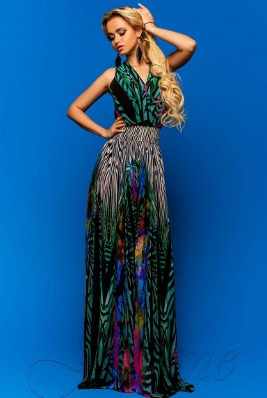 Платье Карри комбинированный