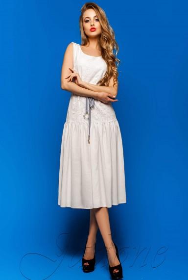 Платье Юнти белый