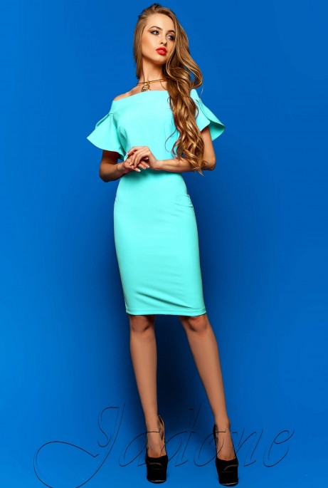 Платье Пирелли бирюзовый
