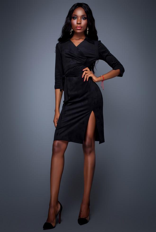 Платье Крейзи черный Жадон