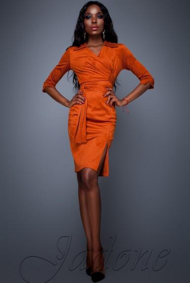 Платье Крейзи кирпичный