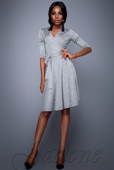 Платье Луки серый