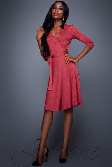 Платье Луки красный