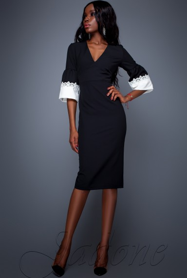 Платье Полит черный