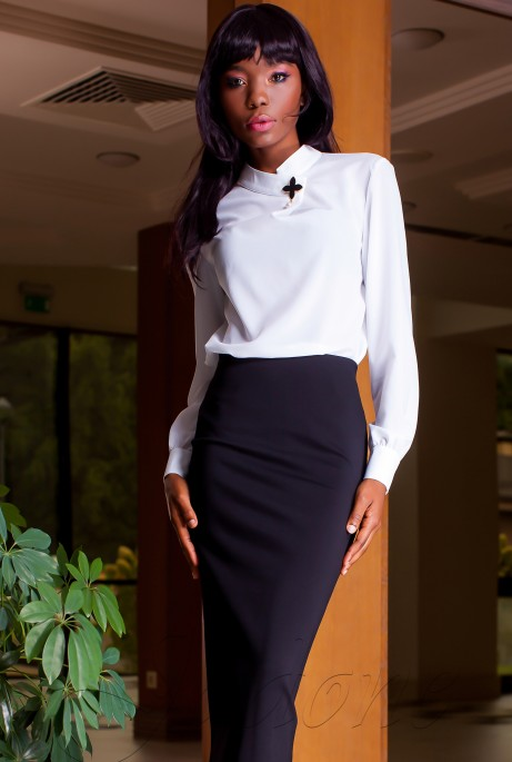 Блуза Vitton белый