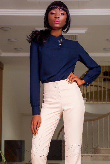 Блуза Vitton тёмно-синий