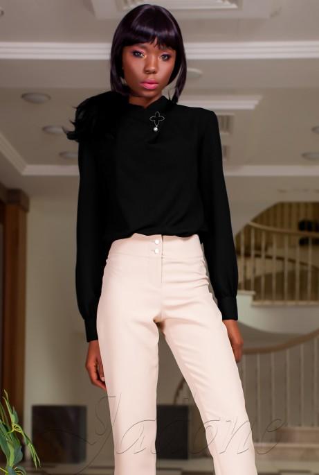 Блуза Vitton черный