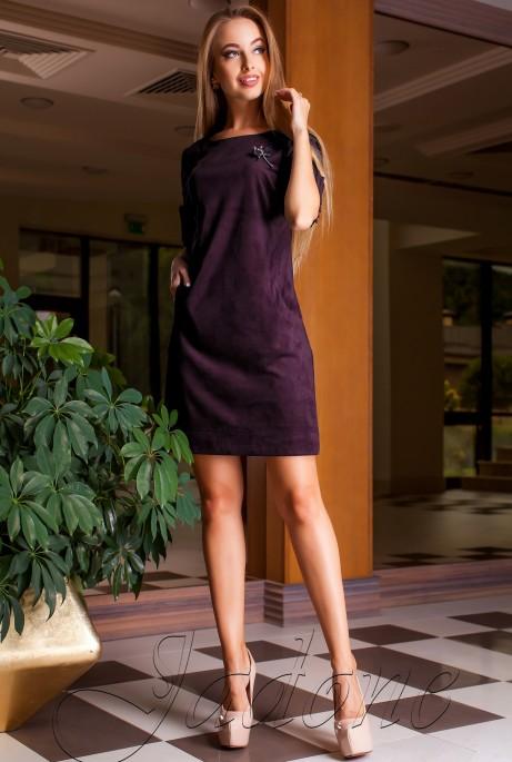 Платье Сетти слива