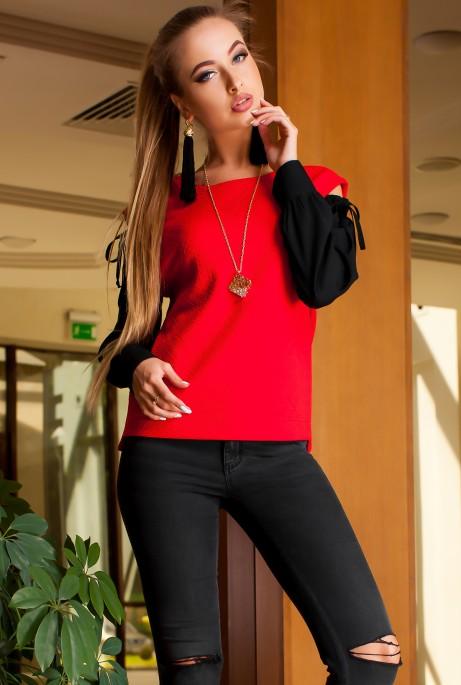 Блуза Венециано комбинированный