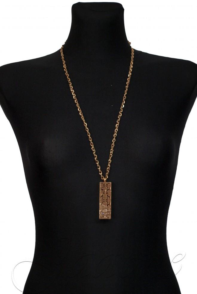 Подвеска Kristall золотой металлик