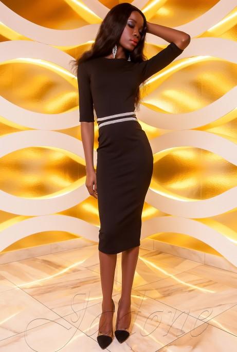 Платье Богемия черный