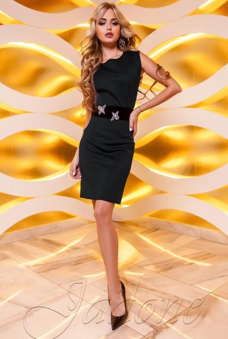 Платье Корси черный
