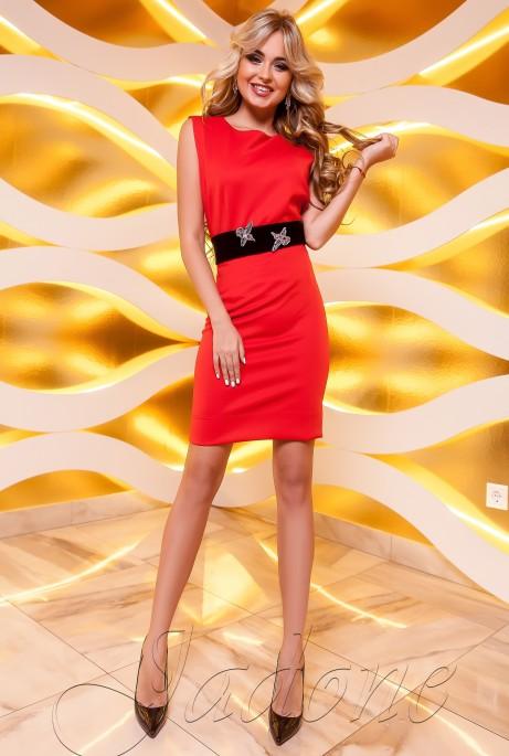 Платье Корси красный