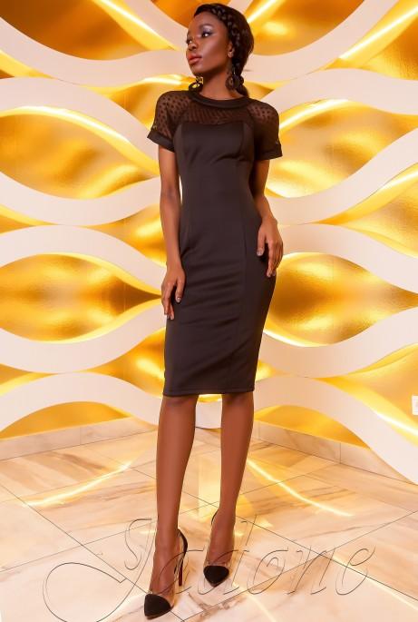 Платье Наргиз черный