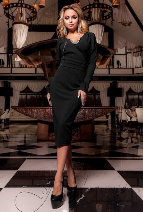 Платье Хансити черный