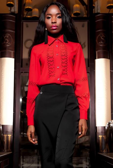 Рубашка Перфис красный