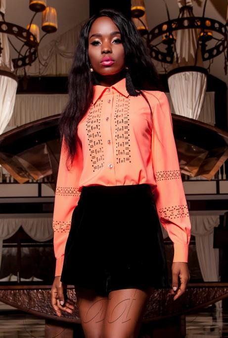 Рубашка Перфис оранжевый