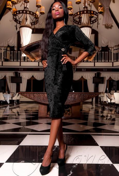 Платье Модус черный
