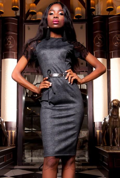 Платье Мовис черный