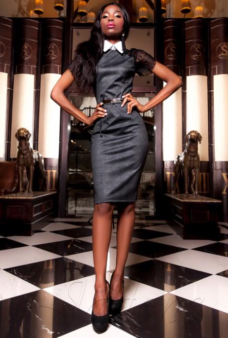 Платье Гобби черный