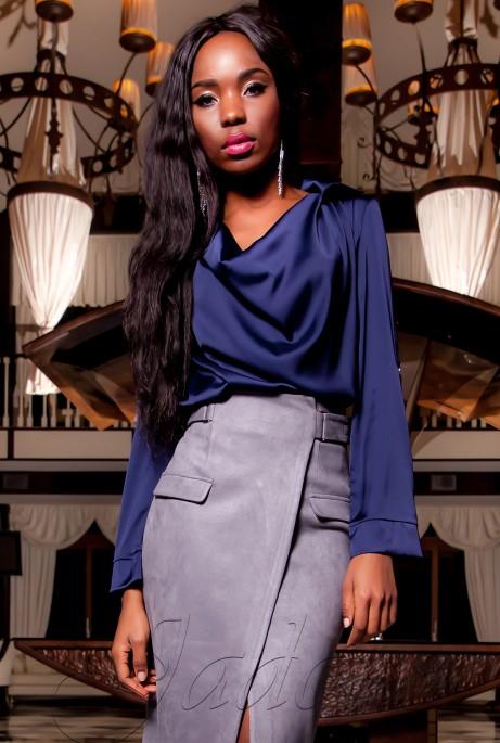 Туника-блуза  Кантили тёмно-синий