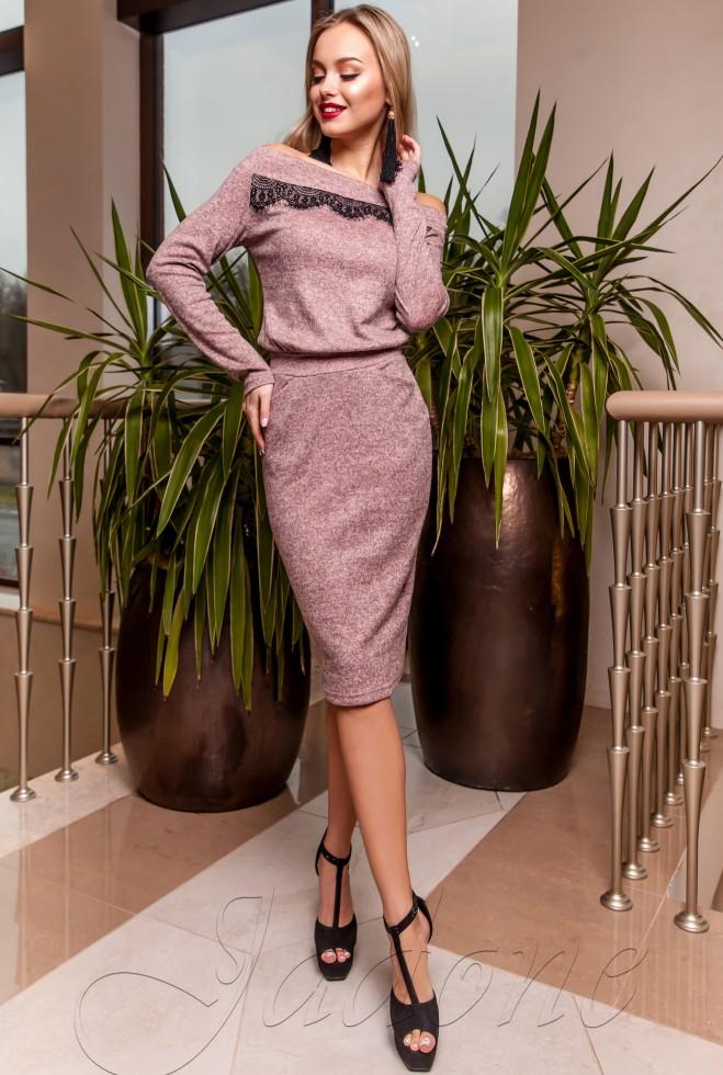 Платье Моратти розовый