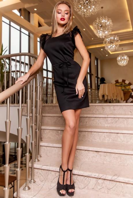 Платье Глори черный