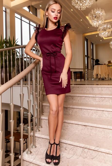 Платье Глори марсала