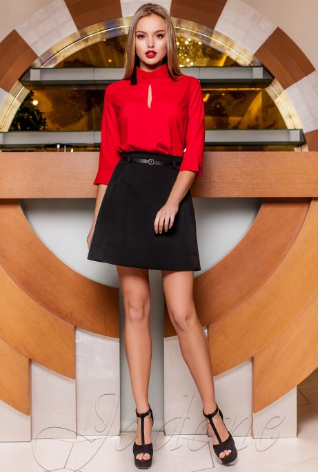 Блуза Лоренсити красный