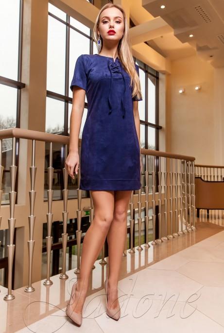 Платье-туника Жордин тёмно-синий