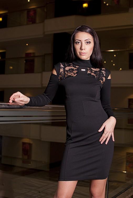 Платье Николь черный