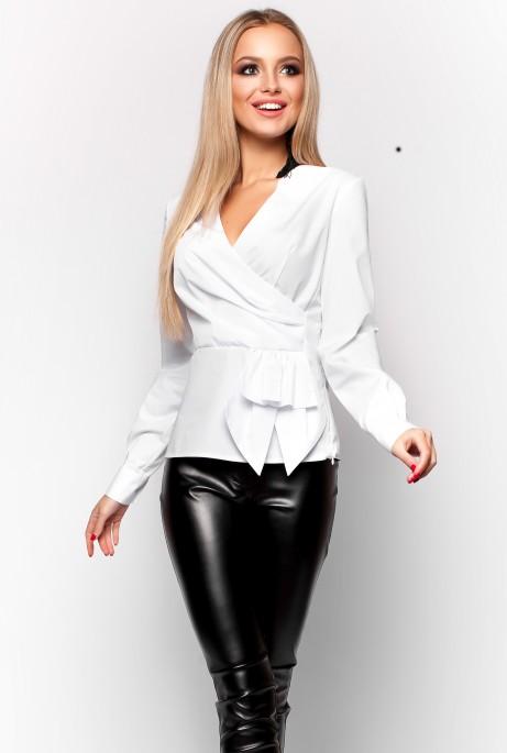 Блуза Карина белый