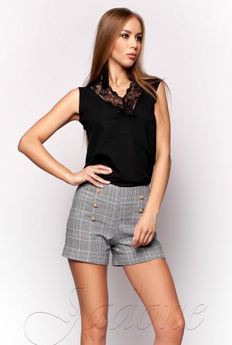 Блуза Окси черный
