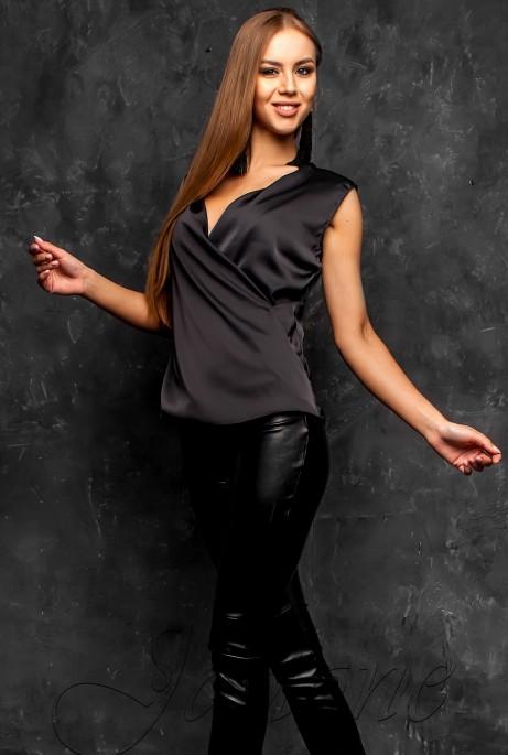 Блуза Марселина черный