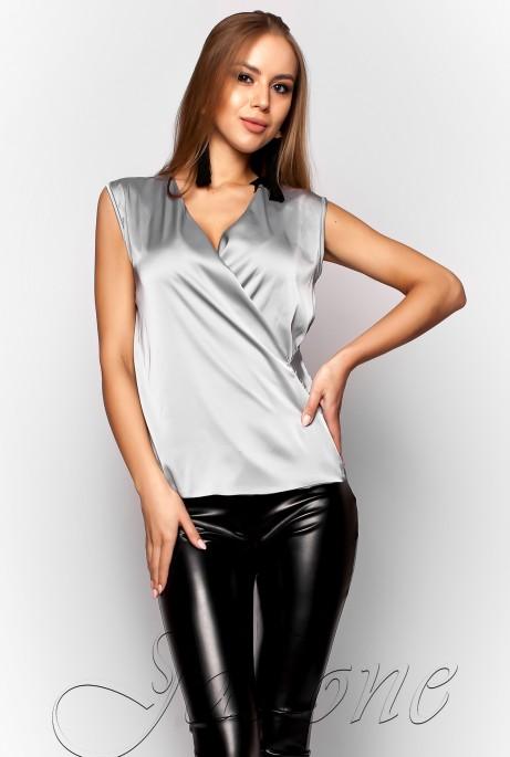 Блуза Марселина стальной